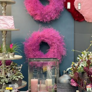 Dekotrend Pink & Schwarz
